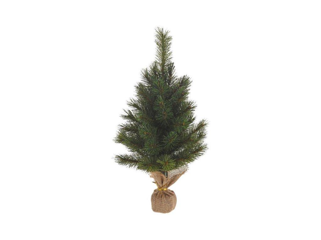 Umělý vánoční stromeček 40x40x55 cm zelený