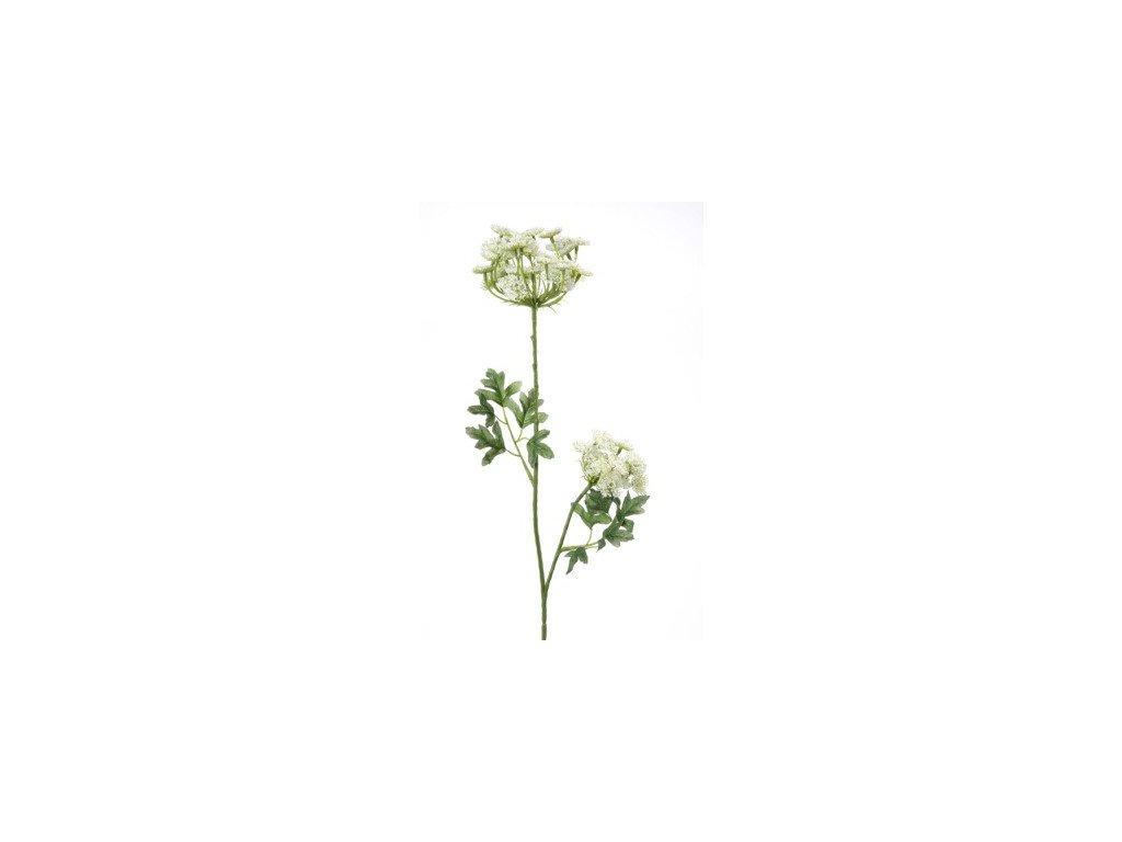 Umělá květina Kopr vonný bílý