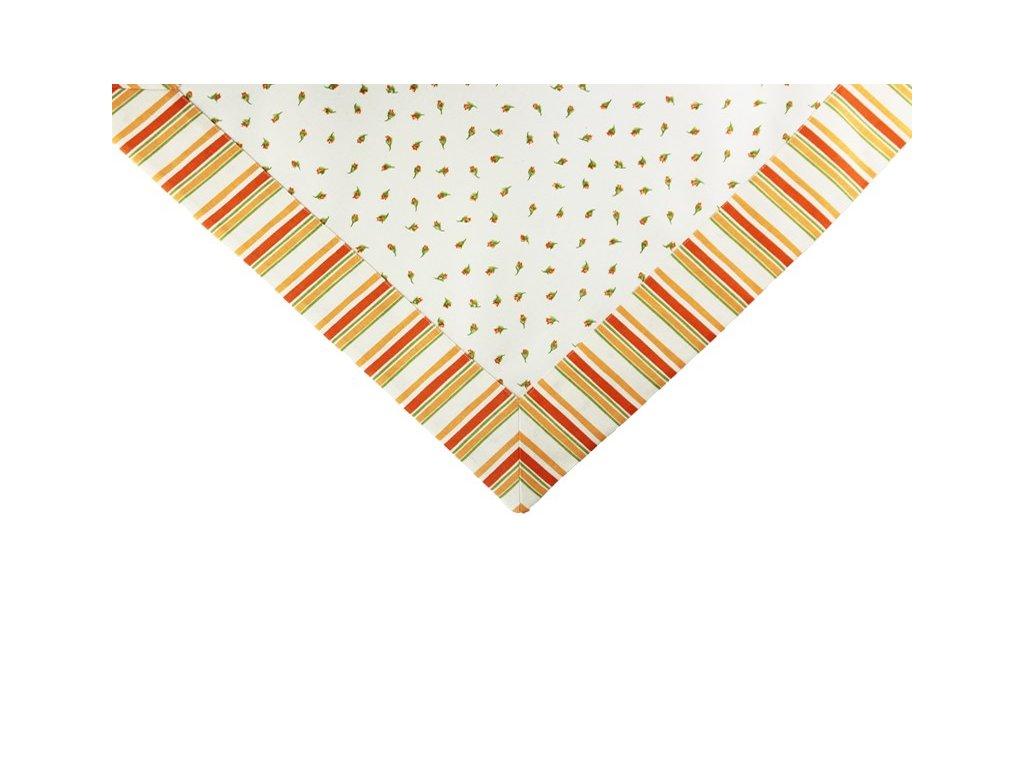 Ubrus s lemem oranžová kolekce 50x50 cm