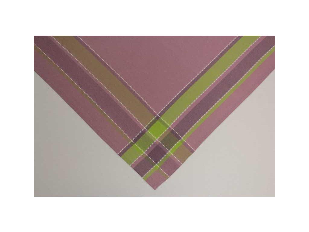 Ubrus GLAD 85x85 fialový
