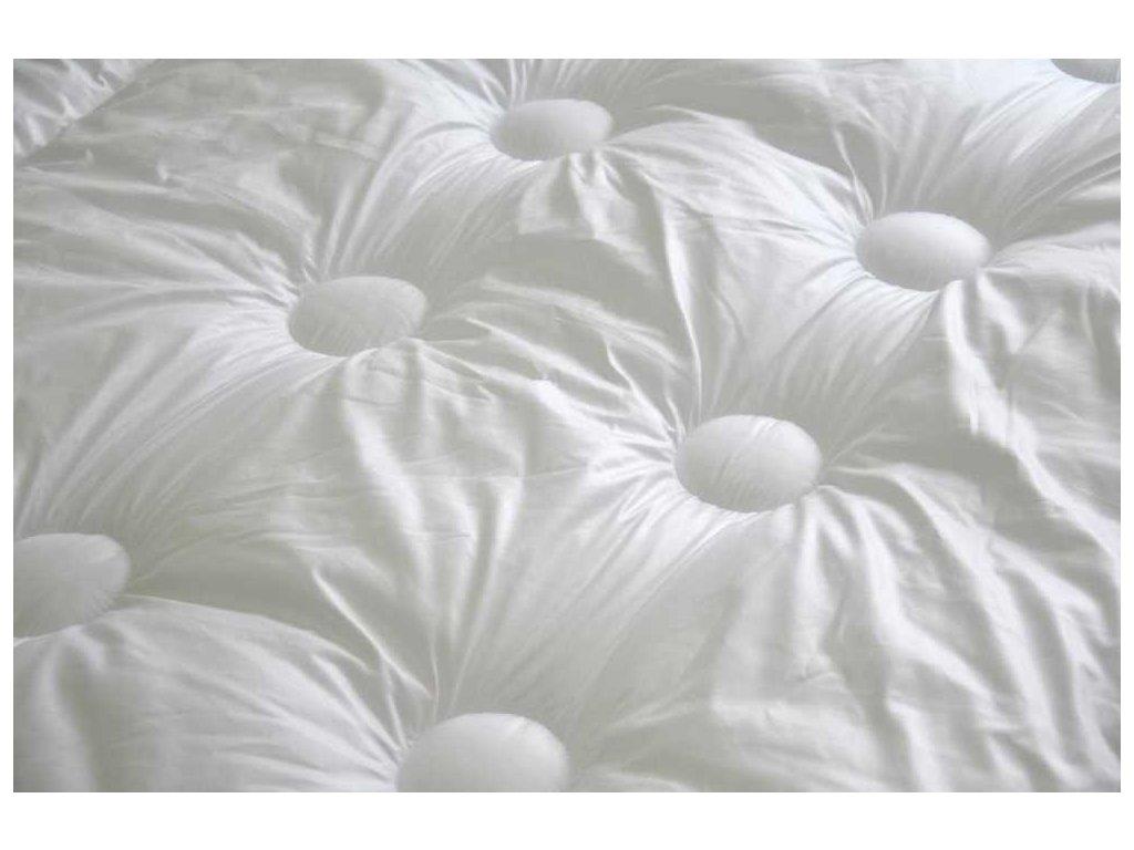 Přikrývka s antibakteriální úpravou středně hřejivá 135x200 cm bílá