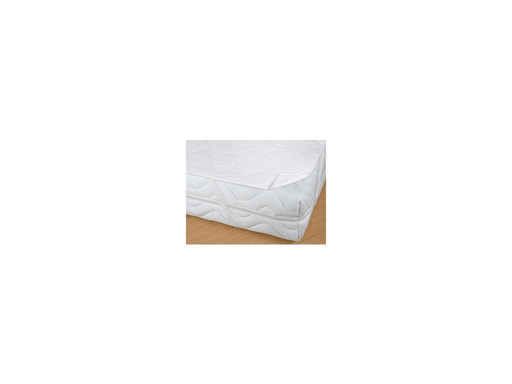 Prodyšný matracový chránič Bella Lux 160x200 cm bílý