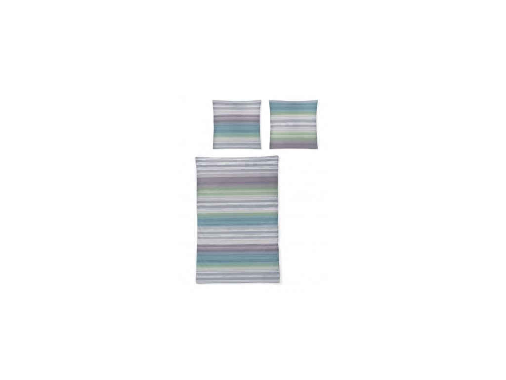 Povlečení IRISETTE mako-satén CAPRI 8735/91 70x90, 140x200 cm