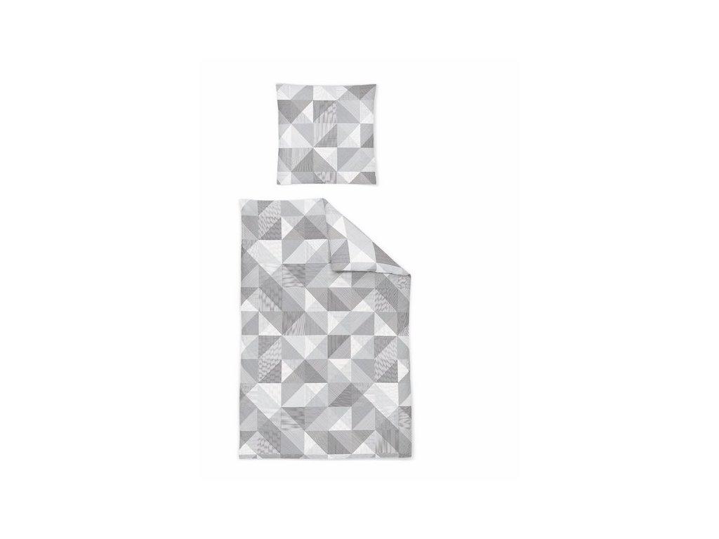Povlečení IRISETTE mako-satén CAPRI 8618/11 70x90,140x220 cm prodloužené