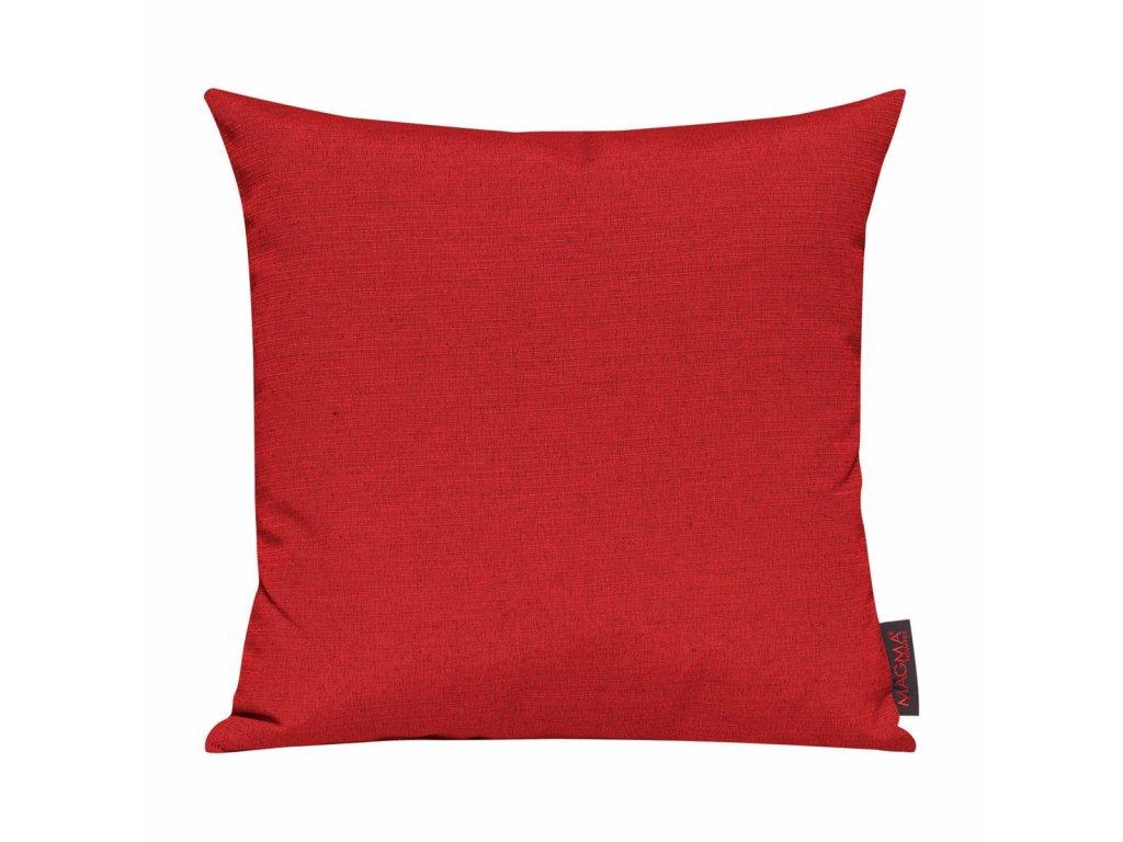 Povlak se zipovým uzávěrem 085 40x40 červený