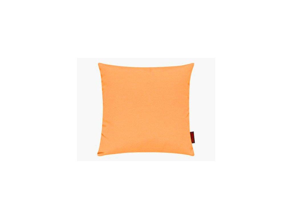 Povlak se zipovým uzávěrem 048 40x40 mandarinkový