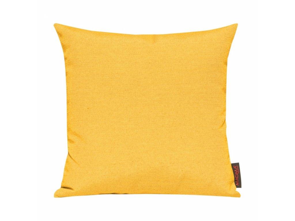 Povlak se zipovým uzávěrem 040 40x40 tmavě žlutý
