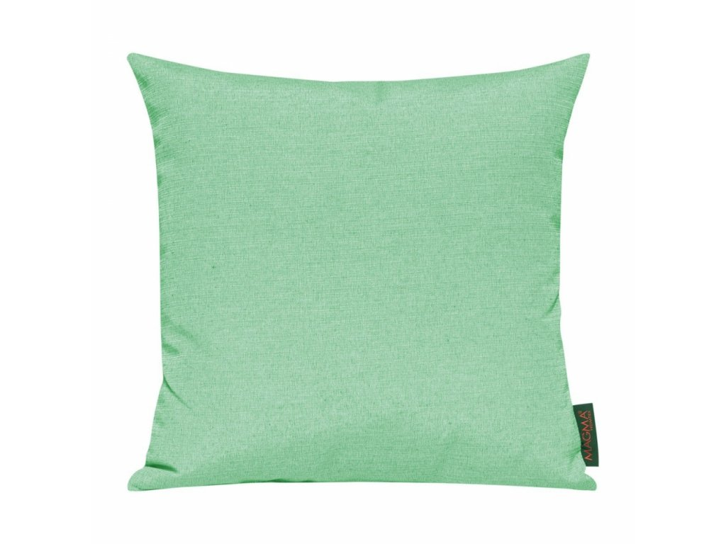 Povlak se zipovým uzávěrem 028 50x50 cm pastelově zelený
