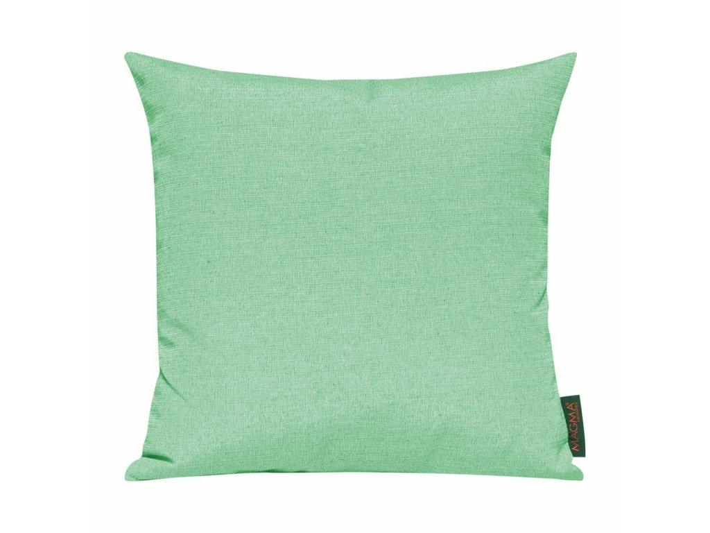 Povlak se zipovým uzávěrem 028 40x40 pastelově zelený