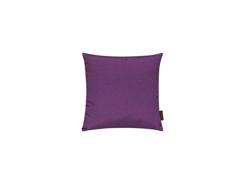 Povlak se zipovým uzávěrem 017 40x40 tmavě fialový