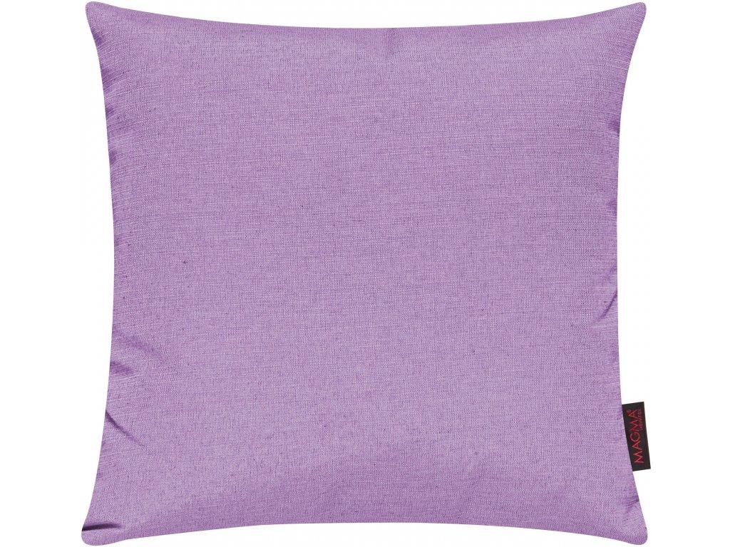 Povlak se zipovým uzávěrem 015 50x50 cm fialová