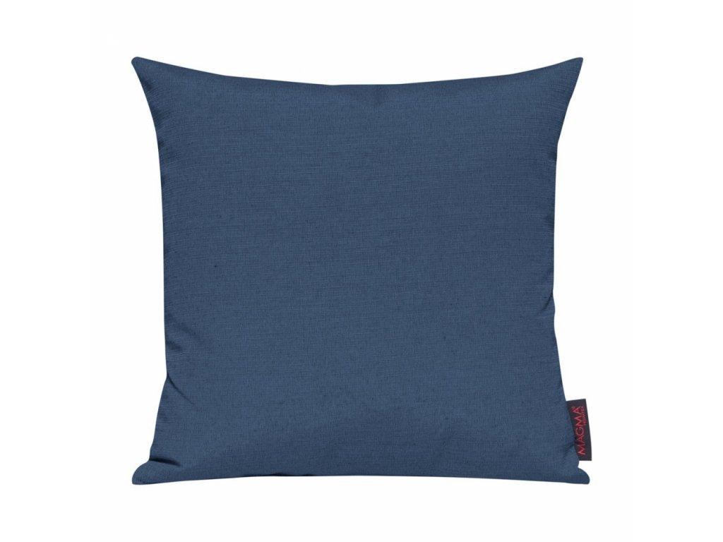 Povlak se zipovým uzávěrem 010 50x50 cm tmavě modrý