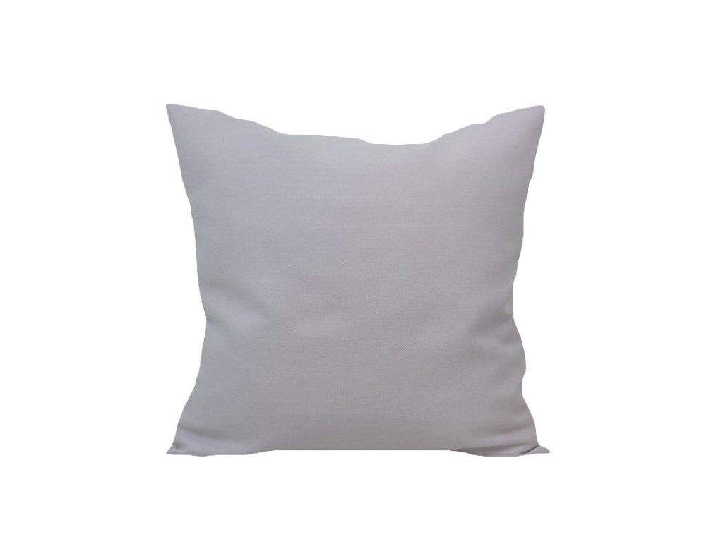 Povlak melírovaný světlý 40x40 cm bílá/starorůžová