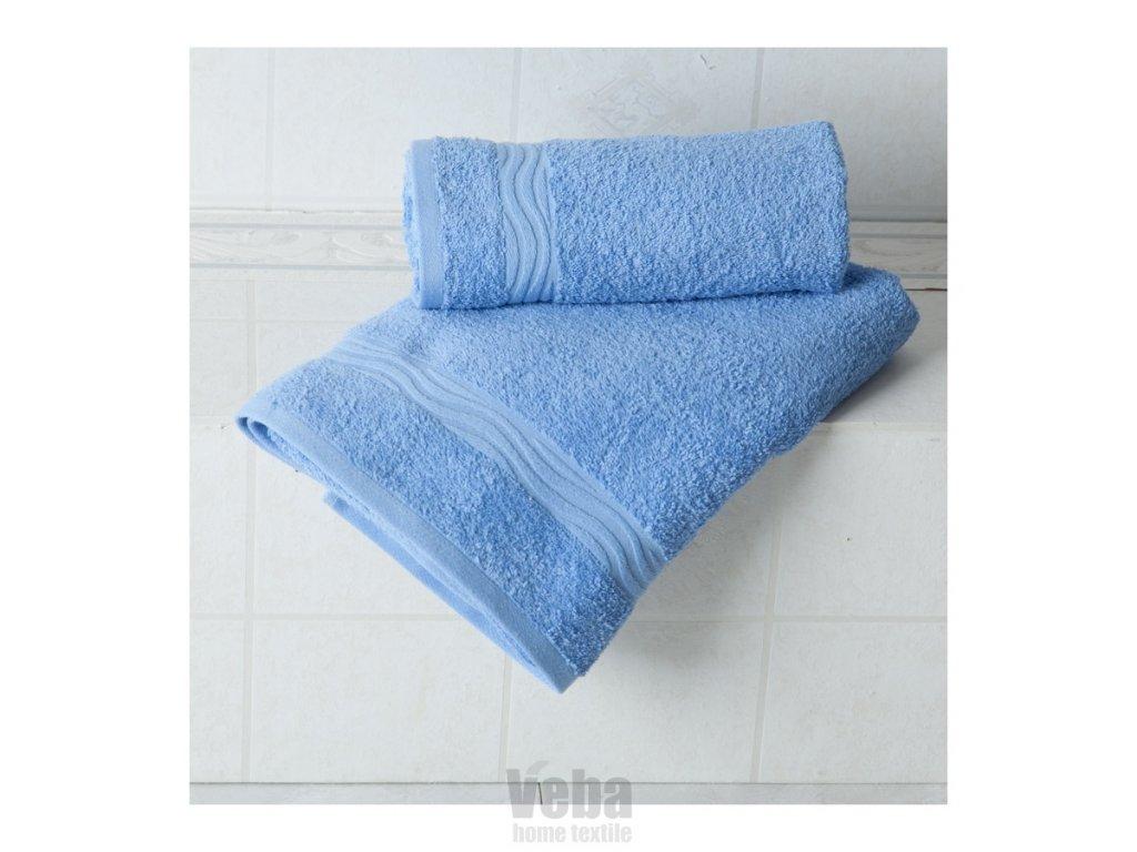Osuška Veba Nora UNI 70x140 modrá