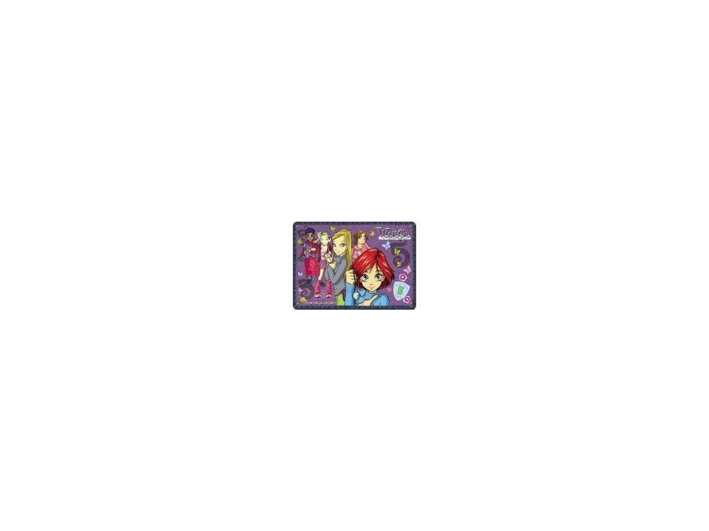 Omyvatelné prostírání W.I.T.C.H. 2 29x40 fialové