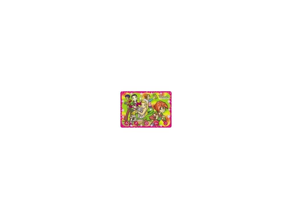 Omyvatelné prostírání W.I.T.C.H. 1 29x40 růžové