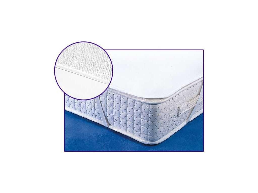 Matracový chránič s PVC zátěrem 80x200 cm bílý