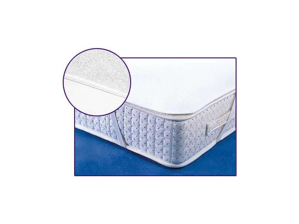 Matracový chránič s PVC zátěrem 160x200 cm bílý