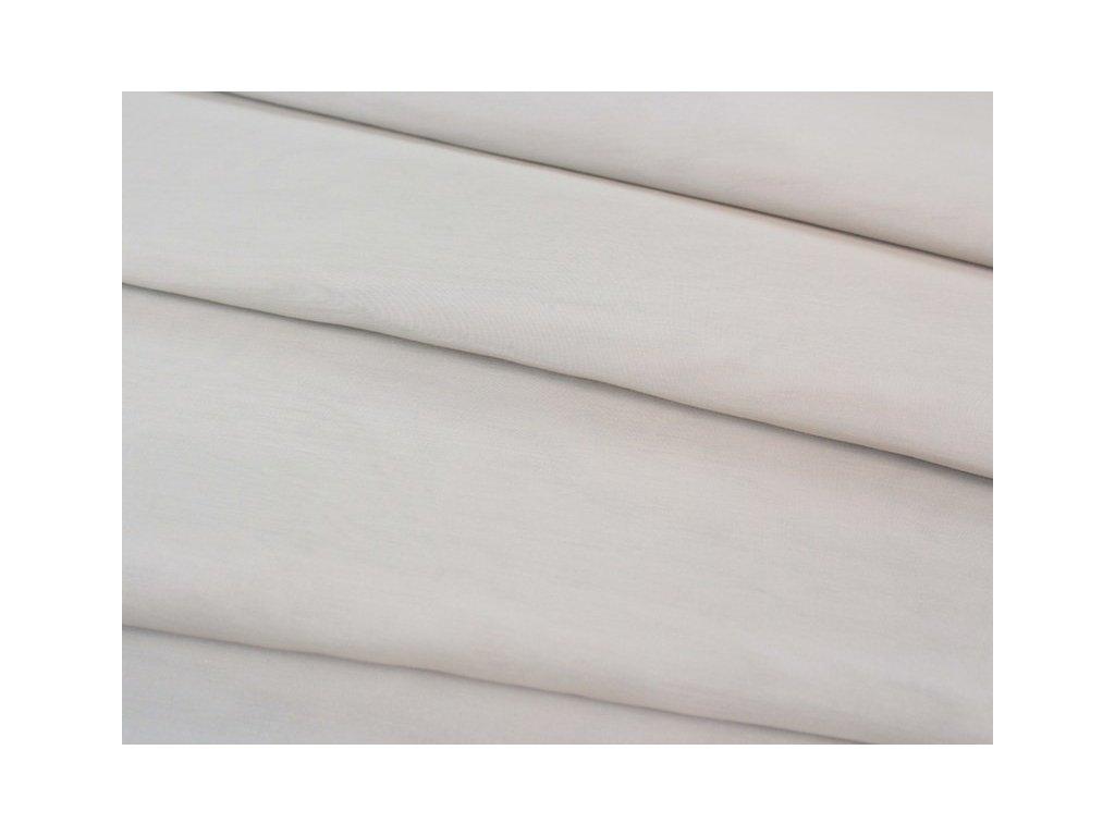 Lehká dekorační látka s olůvkem výška 300 cm béžová
