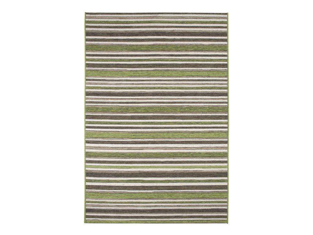 Kusový koberec Brighton 98170/4001 zelenohnědý