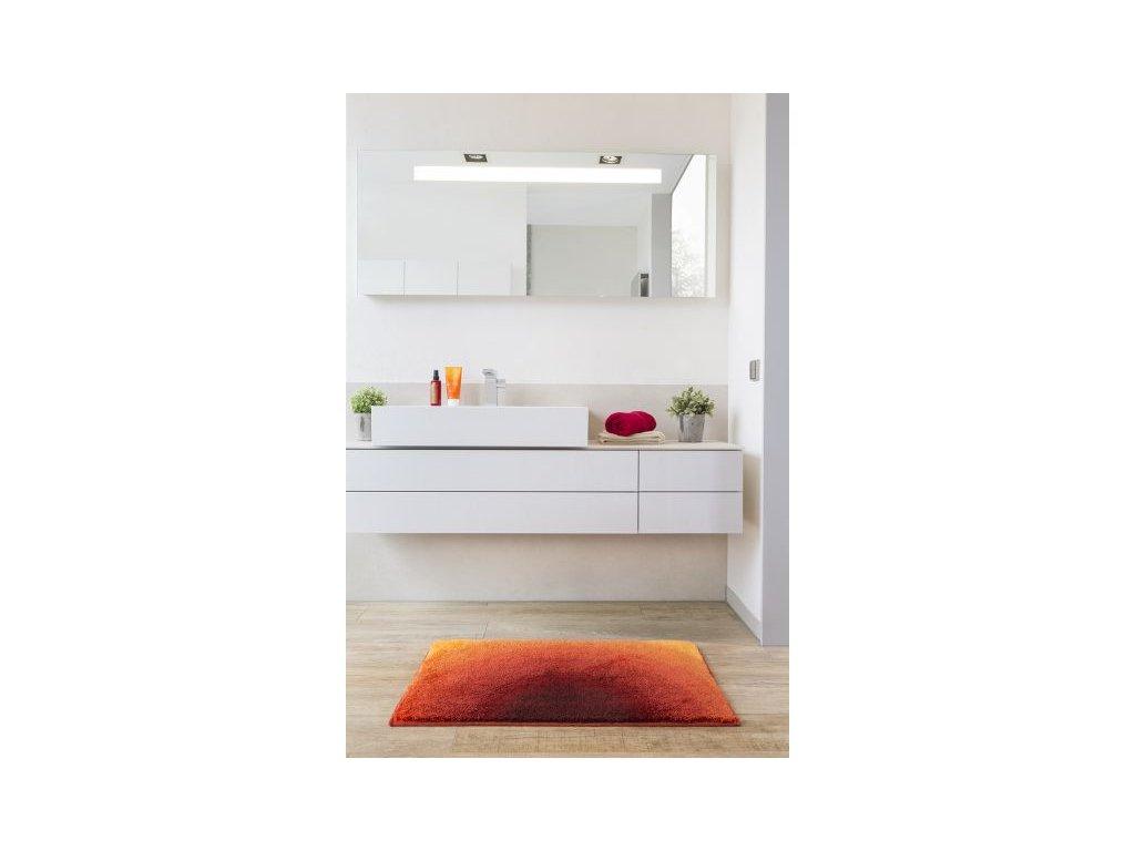 Koupelnová předložka Sunshine 50x60 cm odstíny oranžové