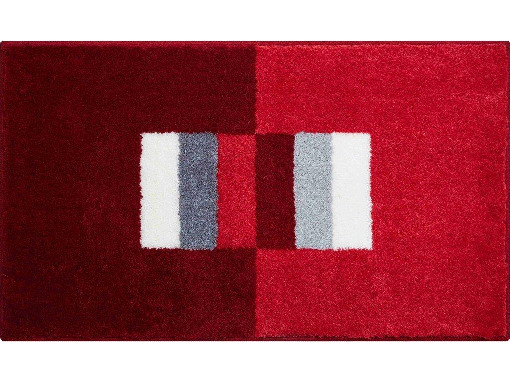 Koupelnová předložka Grund Capricio 60x100 cm červená