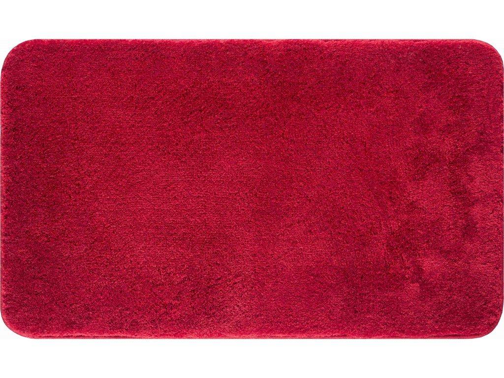 Koupelnová předložka Fantastic 60x100 cm jednobarevná tmavě červená