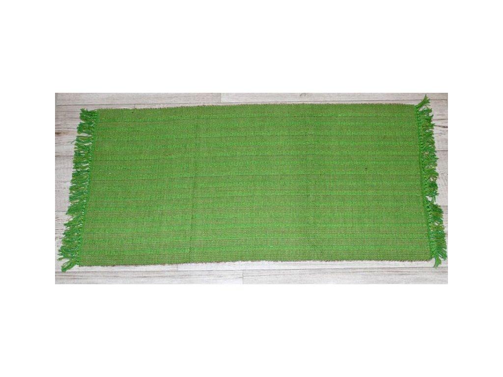 Kobereček Bangalore 55x110 přírodní/zelená
