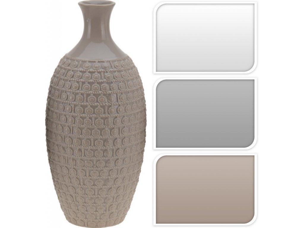 Keramická váza 482742 bílá