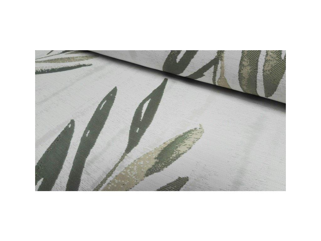 Dekorační látka č.50840/48 šíře 140 cm olivová