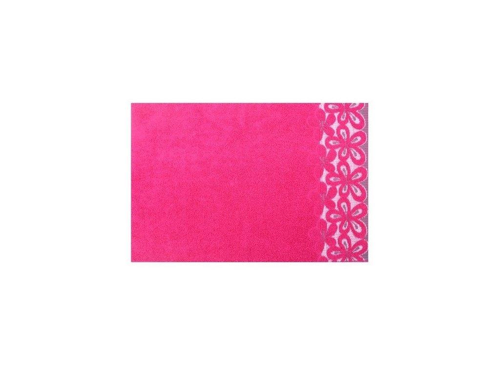 Bavlněný ručník malý Bella 30x50 cm malinový