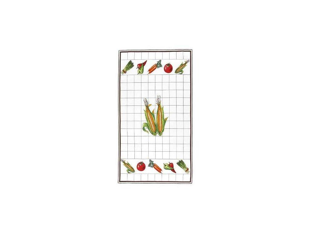 Bavlněná utěrka kukuřice 40x70|40x70