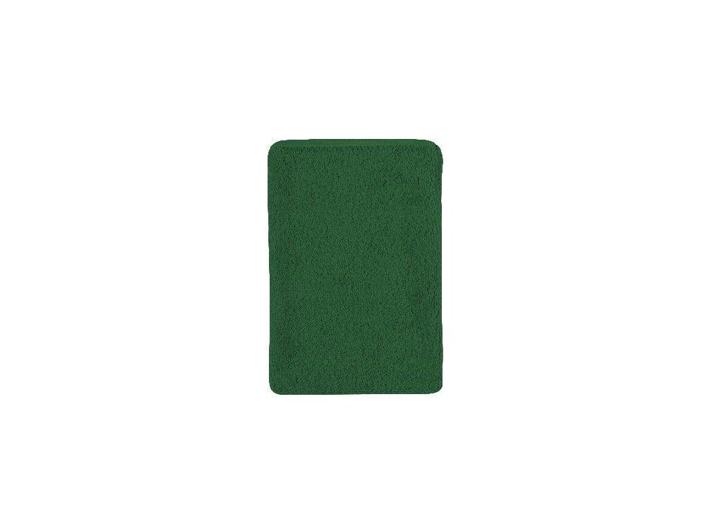 Bavlněná froté žinka tmavě zelená