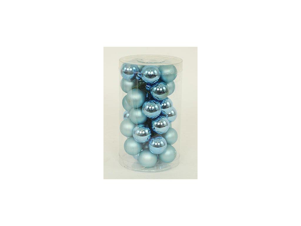 Vánoční ozdoby VAK020-modrá2 36ks v balení