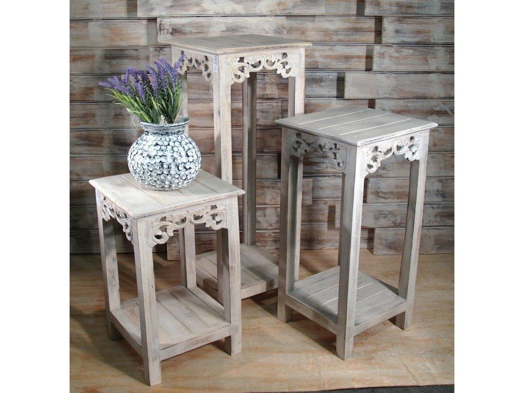 matas dreveny stolek