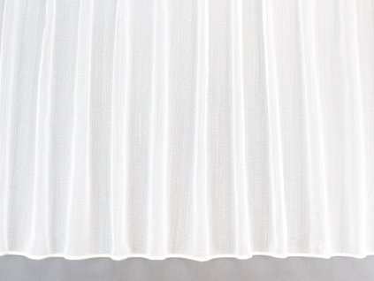 Žakárová záclona s olůvkem smetanová