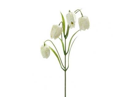 Umělá květina Zvonky smetanové