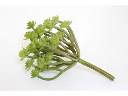 Umělá květina succulent zelený