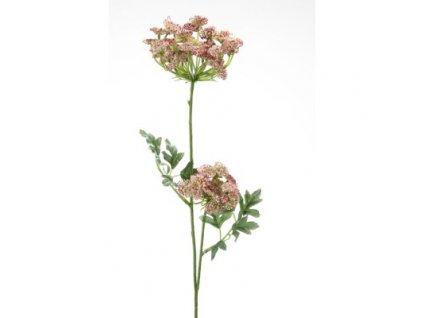 Umělá květina Kopr vonný růžový