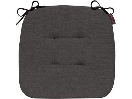 Sedák s úvazy 007 41x41x3,5 cm antracit