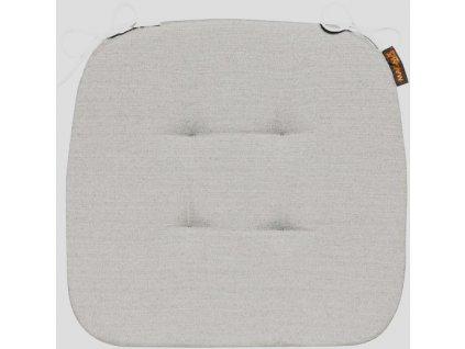 Sedák s úvazy 003 41x41x3,5 cm šedý