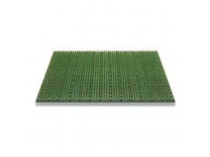 Rohožka plastová ARI zelená 40x60