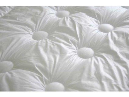 Přikrývka s antibakteriální úpravou hřejivá 135x200 cm bílá
