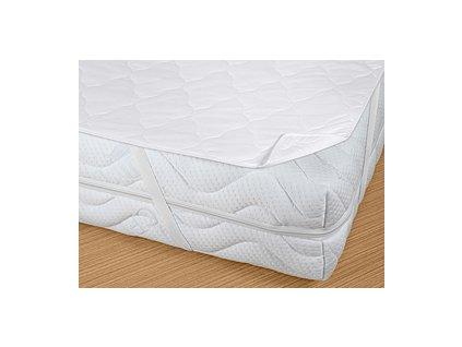 Prodyšný matracový chránič Bella Lux 80x200 cm bílý