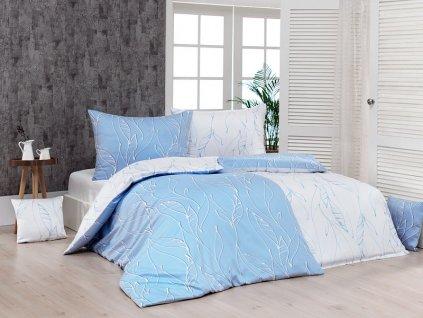 Povlečení Matějovský bavlna DELUXE Lana 2ks 70x90, 1ks 210x220 cm