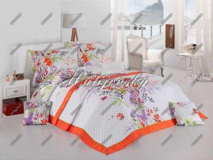 Povlečení Matějovský bavlna DELUXE Garden 70x90, 140x200|200