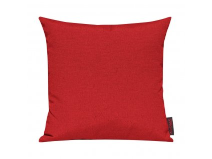 Povlak se zipovým uzávěrem 085 50x50 cm červená