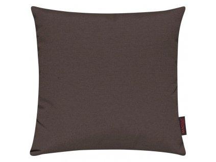 Povlak se zipovým uzávěrem 070 50x50 cm čokoládová