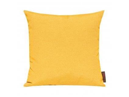 Povlak se zipovým uzávěrem 040 50x50 cm tmavě žlutý