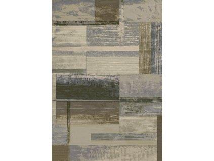 Kusový koberec  Argentum 63019/9353 béžovozelený